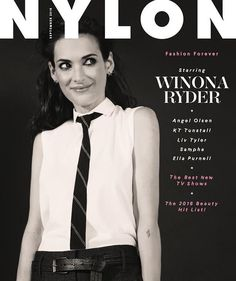 Grab the September issue of NYLON mag with Winona Ryder on the cover! Please note that this listing is for a single issue, not a subscription. Returns and Exchanges Policy Orders will receive a specia