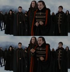 I hear her strange heart. Aro Volturi, Mashup Music, Twilight Saga Series, We Three Kings, Breaking Dawn Part 2, Michael Sheen, Feeling Lonely, Tom Hanks, I Love Books