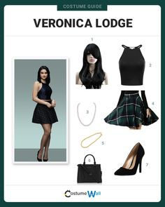 Dress Like Veronica Lodge from Riverdale Get the look of the new girl in town, Veronica Lodge, who moves from New York on The CW television show, Riverdale. Clueless Outfits, Tv Show Outfits, Teen Fashion Outfits, Love Fashion, Cute Outfits, Veronica Lodge Fashion, Veronica Lodge Outfits, Veronica Lodge Style, Veronica Lodge Aesthetic
