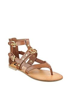G by GUESS Womens Hartin Sandals Rio Maple Size 80 -- Find out more about