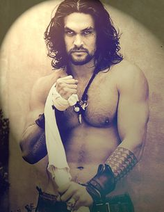 How hot is Khal Drogo!