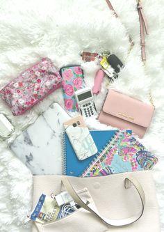 Pastel N Pink: What's in My School Bag? + GIVEAWAY