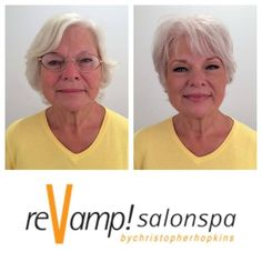 The 21 Most Jaw-Dropping Age-Reversing Makeovers - Trend Hair Makeup Ideas 2019 Thin Hair Haircuts, Hairstyles Over 50, Pixie Hairstyles, Short Hair Cuts, Short Hair Styles, Before After Hair, Before And After Haircut, Costume Noir, Beauty Makeover