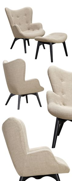 We love the clean lines and appealing retro aesthetic of the Paddington Deux Lounge set. Offered in a wide range of color options to really spark your creativity, the Paddington boasts a black-finished...  Find the Paddington Deux Lounge Set, as seen in the Christmas In London Collection at http://dotandbo.com/collections/christmas-in-london?utm_source=pinterest&utm_medium=organic&db_sku=115172