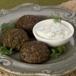 Kale Balls with Creamy Dill Dip Prep (15 min.) + Bake (20 min.) 4 servings, 5 balls each I started seeing frozen spinach and kale balls (like meatballs but with greens instead of meat), and then I started obsessing about making my own. These cuties make a […]