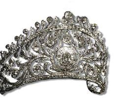 Diamond parure of the The Romanovs, belong to Russian Empresses.