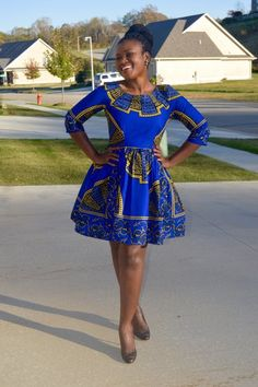 Delila African Dresses For Women, African Attire, African Wear, African Fashion Dresses, African Print Clothing, African Print Dresses, African Inspired Fashion, African Print Fashion, Mode Wax