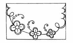 BRODERIE ANCIENNE en photo ds l/'annonce 27 modèles Enveloppes de Serviette