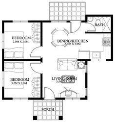 Free Small Home Floor Plans | small-house-designs-shd-2012003 | Pinoy ePlans - Modern house designs ...
