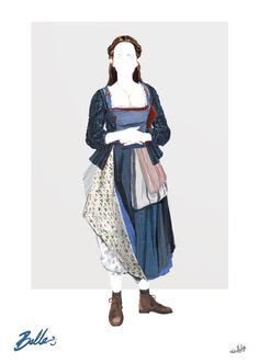 WE LOVE ALL THE DETAILS OF THESE BEAUTY AND THE BEAST COSTUME ILLUSTRATIONS - Every costume starts with a sketch. Check out some of the beautiful costume illustrations that were created for Beauty and the Beast!