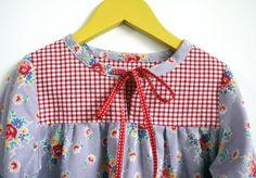 Einfach süße Tunika Top & Bluse INSTANT DOWNLOAD PDF-Schnittmuster für Kleinkinder und Mädchen: Größen 1, 2, 3, 4, 5, 6, 7 und 8
