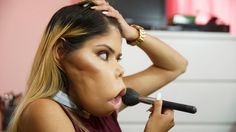 A 21-YEAR-OLD vlogger is making a name for herself on YouTube with her make-up…