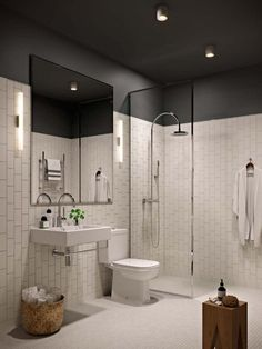 Idea, methods, together with resource with regards to receiving the very best result and making the optimum perusal of Bathroom Color Ideas Beautiful Bathrooms, Modern Bathroom, Small Bathroom, Bathroom Black, Mirror Bathroom, Paint Bathroom, Bathroom Storage, Ceiling Paint Colors, Douche Design