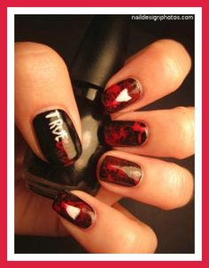 red and black wedding nail designs | nail art designs black and red pictures photos video pictures 12