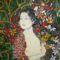 Close up Ode to Klimt