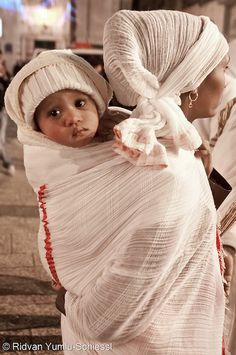 Ethiopian Orthodox Christmas Celebration by Beautiful Faces of Palestine, via Flickr