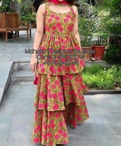 Girls Designer Dresses, Designer Party Wear Dresses, Stylish Dresses For Girls, Designs For Dresses, Indian Designer Outfits, Sharara Designs, Kurta Designs Women, Kurti Designs Party Wear, Salwar Kameez