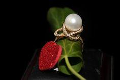 18K Gouden Ringen met parels « Parels Kumpen