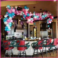 Balloon Backdrop, Balloon Columns, Balloon Garland, Balloon Decorations, Balloon Arrangements, Silk Floral Arrangements, Princess First Birthday, Balloon Designs, Balloon Stands