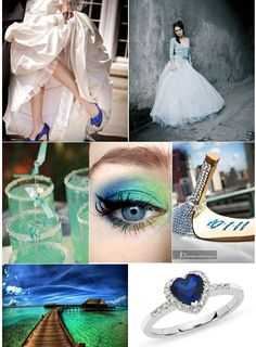 The Practical Wedding Blog Blue So Cool Ideas To Inspire And Love