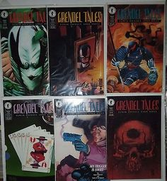 GRENDAL Four Devils One Hell 1 2 3 4 5 6 Dark Comics Full run complete series