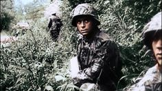Waffen-ϟϟ in bocage. Those guys are scary looking. But that camo is pretty cool