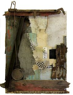 Collages with Found Materials by Michel Keck | Minimo Graph