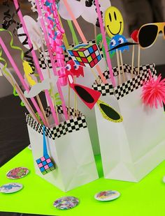 80s Party - cute bags