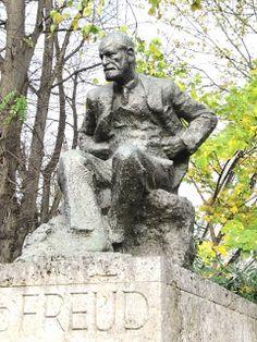 Statue of Sigmund Freud in Swiss Cottage Jubilee Line, Swiss Cottage, Sigmund Freud, Falling In Love, United Kingdom, Garden Sculpture, England, Statue, Outdoor Decor