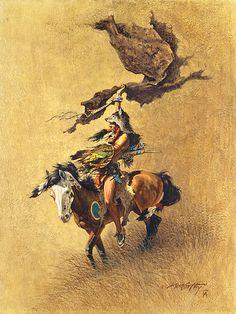 Native American & Western art prints by Frank McCarthy Native American Pictures, Indian Pictures, Native American Artists, Native American Indians, Eagle Pictures, Plains Indians, Indian Paintings, Cool Paintings, Native Indian