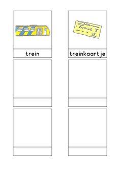 Woordkaarten Bas 'Het station' 3 Dutch Language, About Me Blog, Teaching, School, Projects, Log Projects, Dutch People, Schools, Education