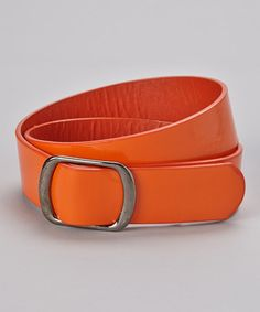 Take a look at this Orange Belt by Delightfully Preppy Kids on #zulily today!