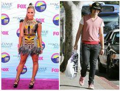 Estilo Criativo (mix de todos os estilos, gosta de misturar, ousar)  Personalidades: Demi Lovato e Joe Jonas  #trendfall2015 #unatrend2015 #mix #criativo #ousar #mistura #estilosAICI