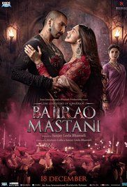 """Bajirao Mastani"" (India, 2015) starring Ranveer Singh, Deepika Padukone and Priyanka Chopra"