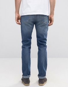 Lee Rider Stretch Slim Jeans Blue Surrender - Blue