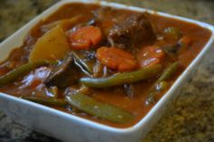Print Easy Beef and Portobello Mushroom Stew By Karin and Ken June 9, 2016 We love vegetables and already have lots of vegetables coming in from our garden which means we have lots to use! This recipe for Beef and Portobello Stew is perfect because it gives us the opportunity to use anything and everything …