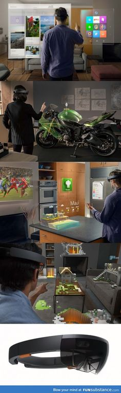 The Future is Now (Microsoft Hololens)