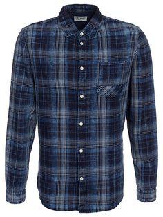 COM: - Shirts (men) - Jack & Jones - men. New clothes, make - up and accessories every day. Daily Fashion, Mens Fashion, Check Shirt Man, Denim Shirt Men, Burberry, Men Online, Ralph Lauren, Western Shirts, Slip