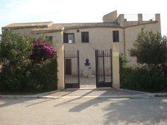 Casa natale e museo di Luigi Pirandello - Caos, Agrigento, Sicília, Sicilia, Sicily, Itália, Italia, Italy
