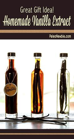 If you use a lot of vanilla in your cooking like I do, this is a great way to save money. Make a few extra bottles to give as holiday gifts!