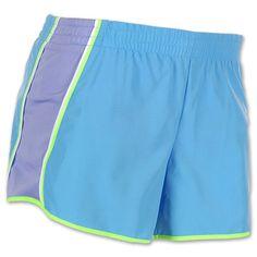 Women's Nike Dri-FIT Pacer Running Shorts| FinishLine.com | Blue/Purple
