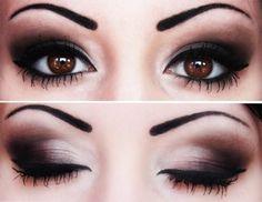 Smokey Eyes. Black Smokey Eye Makeup Tutorial Smokey Eye Makeup Tutorials For Brown Eyes. Smokey Eye Makeup Tutorial Especially for Small Eyes