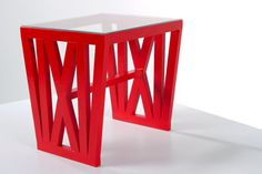 The color makes a bold statement. ;) The chicago table by emmadenvir on Etsy, $2850.00