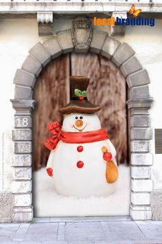 18. Türchen - Schneemann  Gibt es in diesem Jahr weiße Weihnachten?  http://web.de/magazine/panorama/weisse-weihnachten-2014-aktuelle-wetter-ticker-30270964