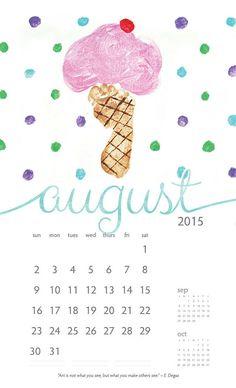 calendar on Behance