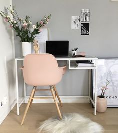 8 Delicious ideas: Minimalist Bedroom Gold Etsy minimalist home office beds.Minimalist Bedroom Gold Etsy minimalist home decorating clothing racks. Home Office Design, Home Office Decor, Office Ideas, Office Inspo, Desk Inspo, Office In Bedroom Ideas, Bedroom Ideas For Teens, Bedroom Inspo, Ideas For Small Bedrooms