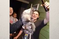 Sign the petition demanding justice for the possum grabbed by the neck, force-fed alcohol and thrown into the garbage in Bloomsberg, PA.