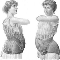 Images of pregnancy maternity fashion - 19th century maternity style - maternity-corset.jpg