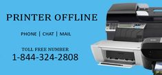 Wants instantly support and guidance to for technical printer bugs? Contact us on 1-844-324-2808.