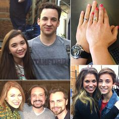 Girl Meets World pictures from the set. Riley, Cory, Rachel, Eric, Shawn, Topanga